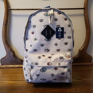 ⭐SALE⭐ Parkland Kids Backpack - White with Eyes
